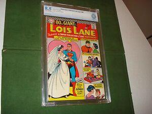 LOIS LANE COMICS #68, SEPT. 1966,  CBCS 8.5-  VF+,  80 PAGE GIANT, SUPERMAN