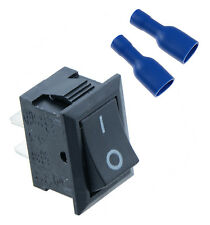 Interruptor de encendido/apagado de rectángulo + Pala crimp connectors coche Dash Barco SPST