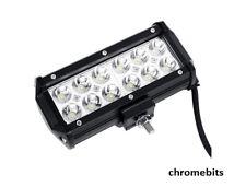 2x 12V 24V 36W LED WORK SPOT LIGHT LAMP CAR JEEP TRUCK BOAT OFFROAD ATV CHASSIS