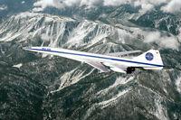 PAN AMERICAN WORLD AIRWAYS BOEING 2707-200 SST 8x12 SILVER HALIDE PHOTO PRINT