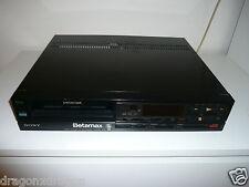 Sony sl-f65 Betamax grabadora de video, raramente utilizado, nuevo, 2 años de garantía