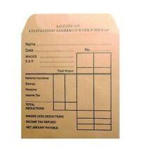 Pukka Post Brown Printed Self Seal Manilla Wage Envelopes Packet (Pack of 50)