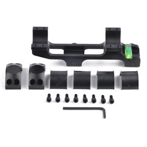 30 mm Rings with Bubble Level fit Scope Picatinny Rail Mount Gun Accessory