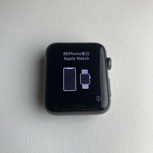 Apple Watch Series 3 42mm Space Gray- GPS (used) Model A1859 Includes watch only