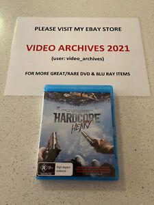 HARDCORE HENRY -  Blu-Ray - Rare - SHARLTO COPLEY TIM ROTH - Free Postage