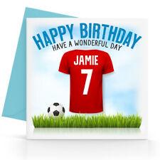 Football Personalised Gift Son Dad Husband Boys Mens Grandson Grandad 116