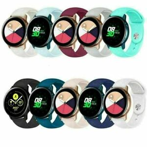 Replace for Samsung Galaxy Watch Active Silicone Strap Belt Sport Band Accessory