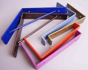 Shelf Brackets Scaffold Board Heavy Duty 225mm Industrial Steel Metal Coloured