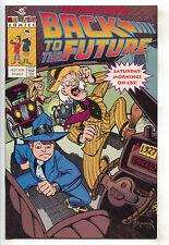 Back To The Futrure Special 1 Harvey 1991 Vf Frank Brunner Promo Cbs