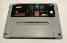 Stargate SNES Super Nes Nintendo Cart - PAL - Star Gate