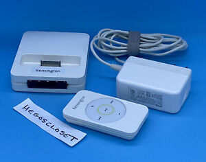 Kensington K33164 STEREO DOCK With Remote For Apple iPod/Old iPhone 30 Pin