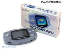 GameBoy Advance Konsole transparent Clear Blue Glacier JAPAN mit OVP Top Zustand