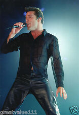 RICKY MARTIN PHOTO 1999 UNIQUE HUGE 12 INCH UNRELEASED EXCLUSIVE IMAGE VALUABLE