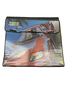 VINTAGE MEAD TRAPPER KEEPER NOTEBOOK #29096 SPORTS CAR FERRARI PREOWNED RARE