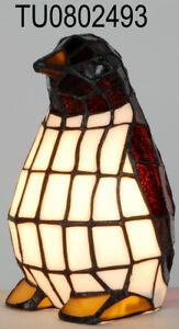 Tiffany Style Penguin Table Lamp