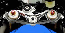 Adesivo in Resina 3D PIASTRA FORCELLA compatibile per MOTO BMW S1000RR 2012-2014