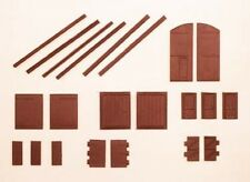 Ratio 311 Industrial & Domestic Doors - Scratch Building 'N' Gauge Plastic Kit 1