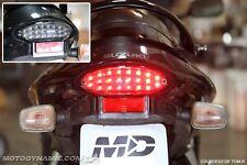 1999-2007 Suzuki Hayabusa 03-06 Katana SEQUENTIAL Signal LED Tail Light SMOKE