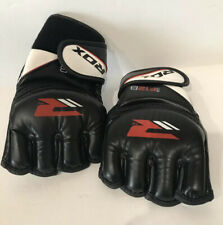 RDX F12 Large Black Leather X Ladies MMA Gloves