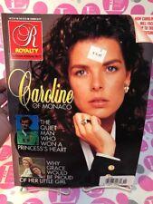 ROYALTY MAGAZINE COLLECTOR'S EDITION NO. 2 1990 PRINCESS CAROLINE OF MONACO-NM!
