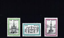 a133 - BRAZIL - SG1788-1790 MNH 1979 FOUNTAINS