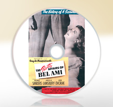 The Private Affairs Of Bel Ami (1947) DVD Classic Drama Film George Sanders