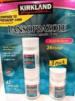 Kirkland Lansoprazole 15mg Acid Reducer Delayed-Release 42 Capsules