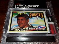 TOPPS PROJECT 2020 #154 ROBERTO CLEMENTE BY KING SALADEEN #HOF