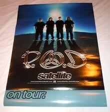 P.O.D.~Satalite~Original Promo Poster~18x24~Excellent Condition~2001