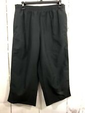 Champion Women's Size Small Pants Black Athletic Jogger Capri/Cropped