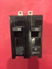 1 Siemens B20 Circuit Breaker 20A 20 Amp 2P 2 Pole 240V 240 Volt