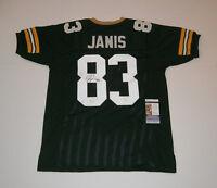 PACKERS Jeff Janis signed green custom jersey w/ #83 JSA COA AUTO Autographed