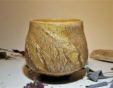 Studio Pottery.. Chawan / Yunomi  Tea bowl. Wabi Sabi .Japanese style. Matcha