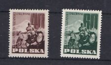 Polonia 1955 13 gara motociclistica in montagna 928-29 mnh