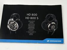 Sennheiser HD 800s Headband Headphones - Silver Manual