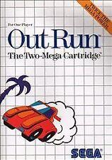 Out Run (Sega Master, 1987) PREOWNED