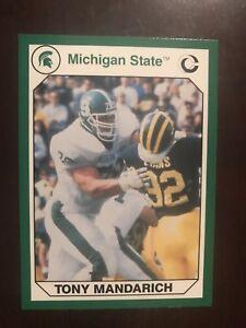 1990 Michigan State Spartans Collegiate Collection #89 - Tony Mandarich - FB