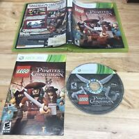 LEGO Pirates of the Caribbean: The Video Game Microsoft Xbox 360 2011 Complete *