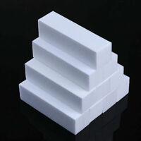 10 Pcs White Nail Art Buffer File Block Pedicure Manicure Buffing Sanding Polish
