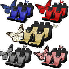 Universal Auto Seat Covers Decor Car Truck SUV Van Protectors Front & Rear Row
