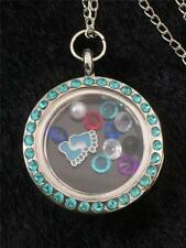 Crystal Baby Locket Costume Necklaces & Pendants