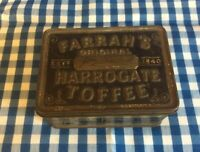 Vintage Farrah's Original Harrogate Toffee Tin