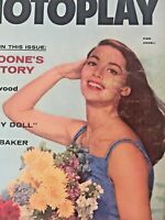 Vintage Collectible Movie Magazine Pier Angeli Cover June 1957