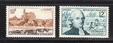 France 1955 SC# 763, 765 - St. Stephen Bridge - J.P. Claris de Florian M-H # 030