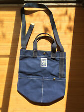 PORT CANVAS 100% COTTON TOTE BAG- DARK NAVY - HAND MADE IN USA