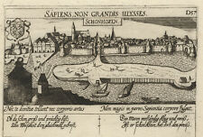 Schoonhoven (Niederlande).- Kupferstich/Meisner Schatzkästlein, 1637-1678