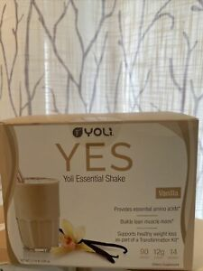 Yoli - Yes  Essential Protein Shake Packets Vanilla 14 packets