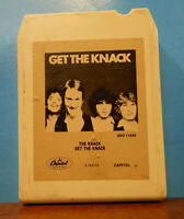 GET THE KNACK 1979 STEREO 8 TRACK TAPE CARTRIDGE TESTED