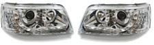 For VW Transporter T5 03-10 Chrome DRL Headlights LED Indicators Detector