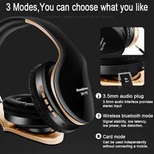 Foldable Wireless Bluetooth Headset Stereo Headphones Super Bass Over Ear-3 days